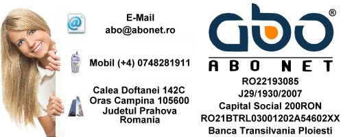 Informatii contact ABO NET Domenii inregistrare .info